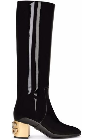 Dolce & Gabbana Damen Stiefeletten - Kniehohe Stiefel