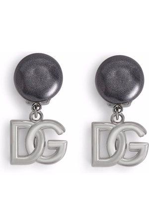 Dolce & Gabbana Herren Ohrringe - Ohrclips mit Logo