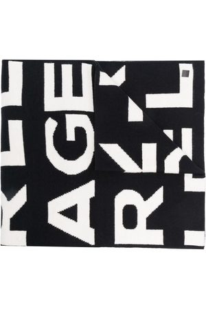 Karl Lagerfeld AOP Schal mit Logo