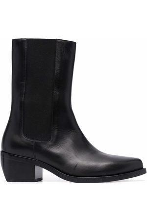 LEGRES Damen Stiefeletten - Klassische Chelsea-Boots