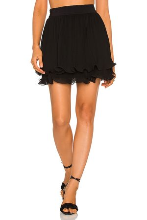 Milly Ria Chiffon Pleated Skirt in . Size 10, 2, 4, 6, 8.