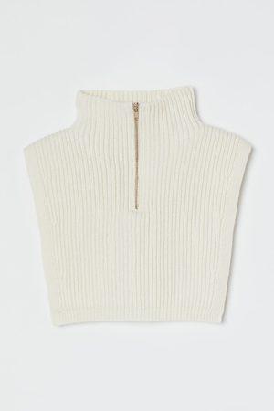 H&M Strickkragen mit Zipper