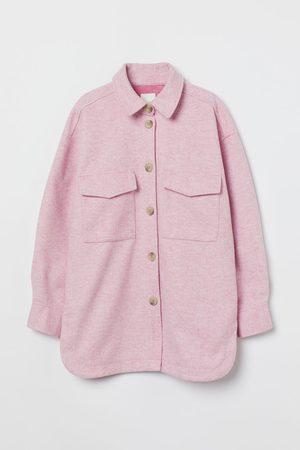 H & M Hemdjacke aus Fleece