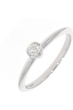 """XEN Ring """"one Ring Mit Diamant 0,11 Ct. 585 Weiß """" in , Schmuck für Damen"""