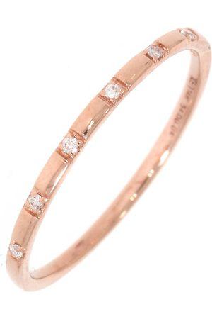 """Xen Ring """"mit 7 Diamanten 0,04 Ct. 585 Rotgold"""" in rosé , Schmuck für Damen"""