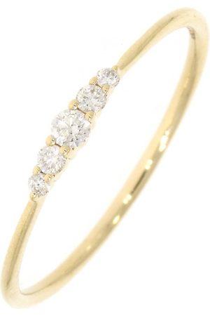 """XEN Ring """"mit 5 Diamanten 0,10 Ct. 585 Gelbgold"""" in , Schmuck für Damen"""
