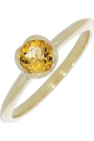 """Xen Ring """"one Ring Mit Citrin 375 Gelbgold"""" in , Schmuck für Damen"""