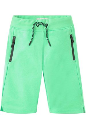 TOM TAILOR Jungen Bermuda Shorts - Jungen Bermuda mit Reißverschlusstaschen, , Gr.104/110