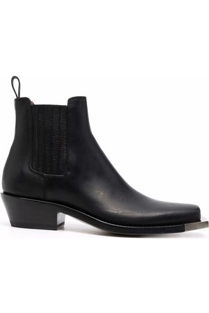 Buttero Chelsea-Boots mit eckiger Kappe