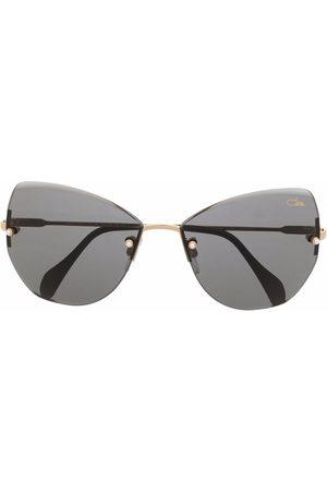 Cazal Damen Sonnenbrillen - Rahmenlose Cat-Eye-Sonnenbrille