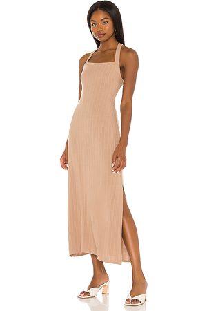 Line & Dot Delilah Cross Body Back Dress in . Size XS, S, M.
