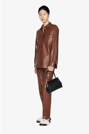ANINE BING Colton Track Pant in Brown