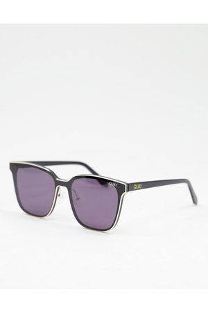 Quay Australia Quay – Lined Up – Eckige Unisex-Sonnenbrille in