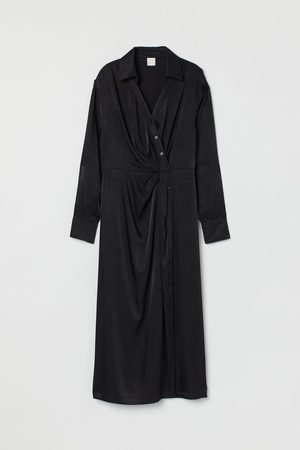 H&M Drapiertes Blusenkleid