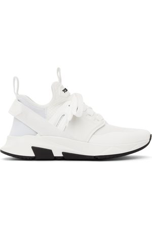 TOM FORD White Jago Sneakers