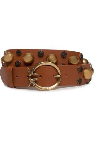 Pinko Damen Gürtel - Love Maxi Studs Belt 2.0 H4 1H20YD Y7KX L40