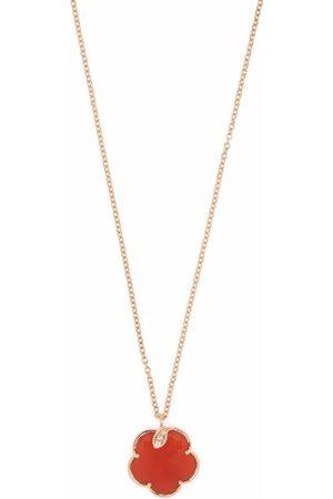 Pasquale Bruni Damen Halsketten - 18kt Petit Joli Rotgoldhalskette mit Diamanten