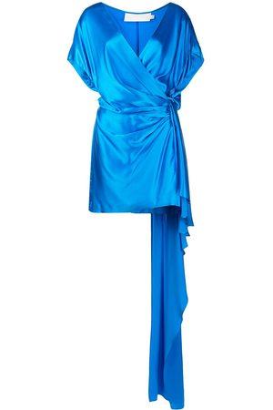 Michelle Mason Seidenkleid in Wickeloptik