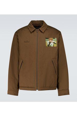 UNDERCOVER Bedruckte Jacke aus Baumwolle