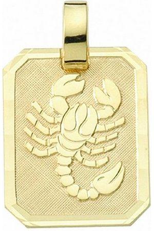 Adelia's Kette mit Anhänger »333 Gold Sternzeichen Anhänger Skorpion - Set mit Halskette«, 333 Gold Goldschmuck für Damen & Herren