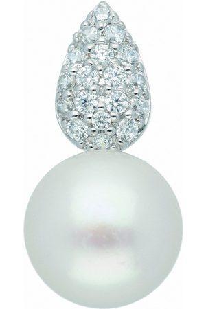 Adelia's Kette ohne Anhänger »925 Anhänger mit Zirkonia - Set mit Halskette«, Silberschmuck für Damen