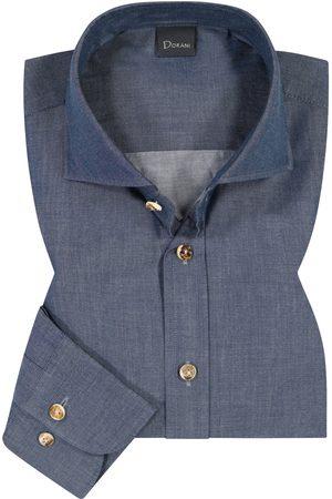 Dorani Trachtenhemd für Herren von in Dunkelblau. Das Modell zeichnet sich durchdie feine Denim-Qualität aus, während Knöpfe in Hornoptik.... Mehr Details bei Lodenfrey.com