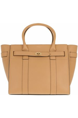 Mulberry Tote Small Zipped Bayswater Tote Bag gelb