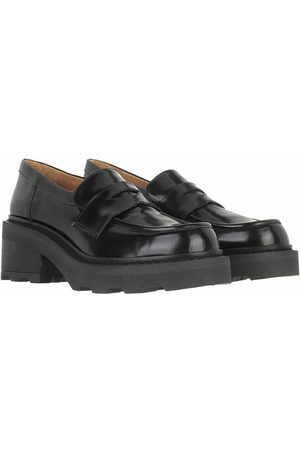 Toral Loafers & Ballerinas Shoe With Track Sole schwarz