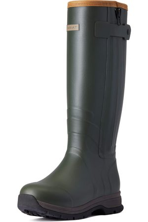 Ariat Women's Burford Insulated Zip Rubber Boots in Olive