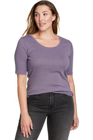 Eddie Bauer Favorite Shirt - Kurzarm - Rundhalsausschnitt Damen Gr. XS