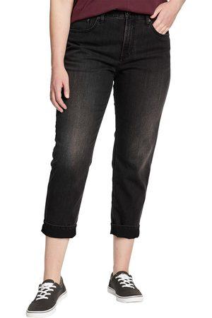 Eddie Bauer Boyfriend Jeans - High Rise Damen Gr. 4