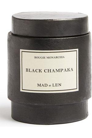 MAD et LEN Monarchia Black Champaka Kerze aus Sojawachs