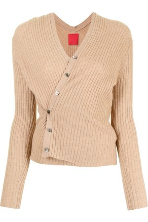 Cashmere In Love Gerippter Inez Cropped-Cardigan