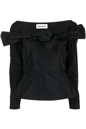 Molly Goddard Damen Longsleeves - Langarmshirt mit Schleife