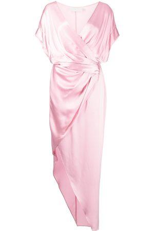 Michelle Mason Damen Freizeitkleider - Wickelkleid aus Seide