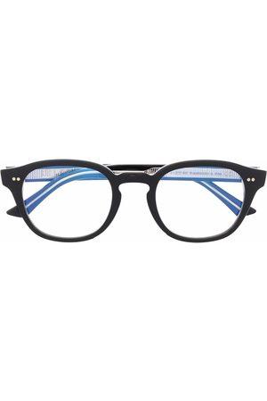 CUTLER & GROSS Runde Brille mit Glanzoptik