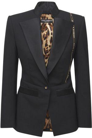 Dolce & Gabbana Damen Blazer & Sakkos - Jackett Aus Wollmischung