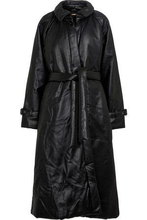 Dodo Bar Or Wattierter Mantel aus Leder
