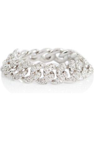 Shay Ring aus 18kt Weißgold mit Diamanten