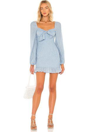 MAJORELLE Sofia Mini Dress in . Size M, S, XL, XS, XXS.