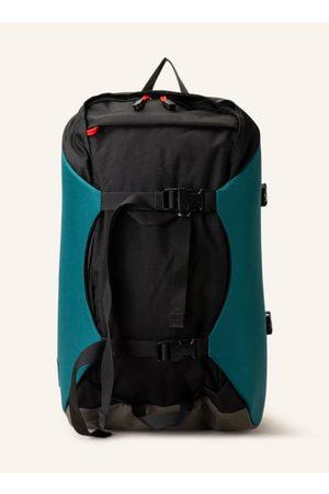 Osprey Tagesrucksack für Damen und Herren. Aus Robic®-Nylon. Dauerhaft wasserabweisende DWR-Imprägnierung. PFC-frei. Gepolsterte Schultergurte. Hüftgurt. Kompressionsriemen. Laptop-Fach für ein 16-Zoll Laptop. Trinksystem kompatibel. Label-Details. Aus re