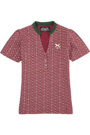 hangOwear Trachtenshirt »Agany« Damen, besonders elastisch mit V-Ausschnitt