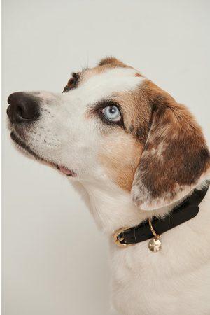 NA-KD Basic Leather Dog Collar - Black