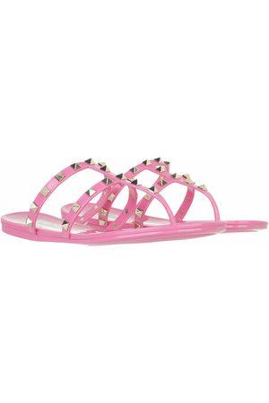 VALENTINO GARAVANI Damen Sandalen - Sandalen & Sandaletten Rockstud Thong Sandals pink