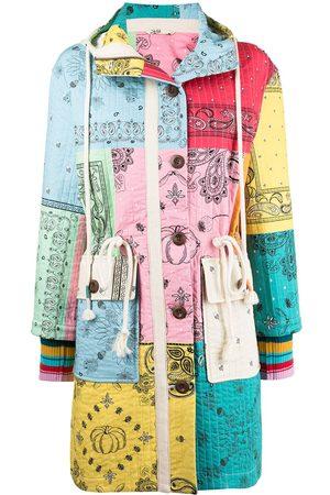 MIRA MIKATI Gesteppter Mantel mit Bandana-Print