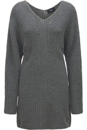THEORY Minikleid Aus Wolle/kaschmirmischstrick