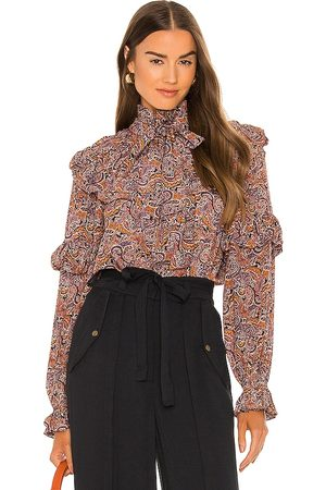 ULLA JOHNSON Margeurite Blouse in . Size 10, 2, 4, 6, 8.