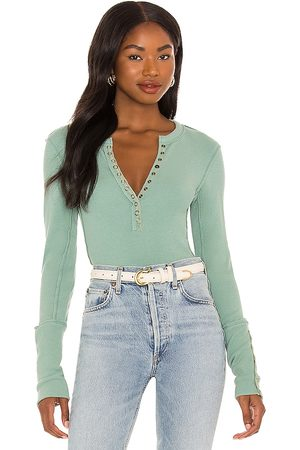 Free People Nailed It Henley Tee in . Size M, S, XS.