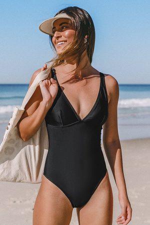 Cupshe Badeanzug mit Cutout und Schnürung