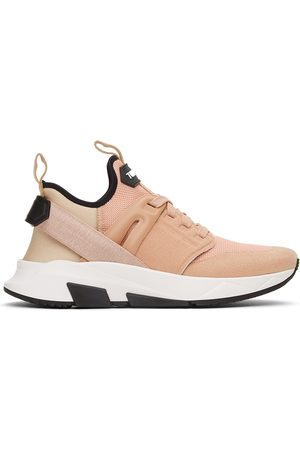 TOM FORD Pink Jago Sneakers